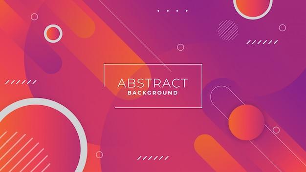Hintergrund des abstrakten gradienten geometrische formen