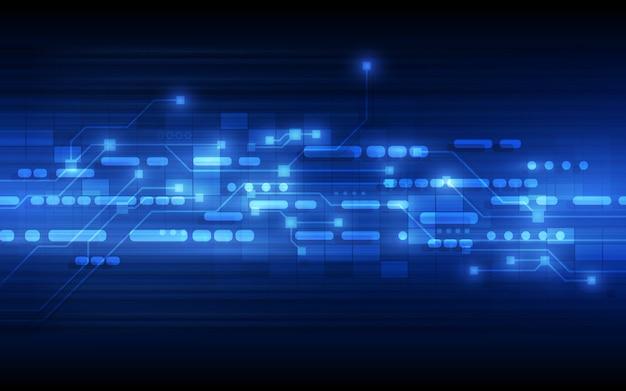 Hintergrund des abstrakten technologiekonzepts