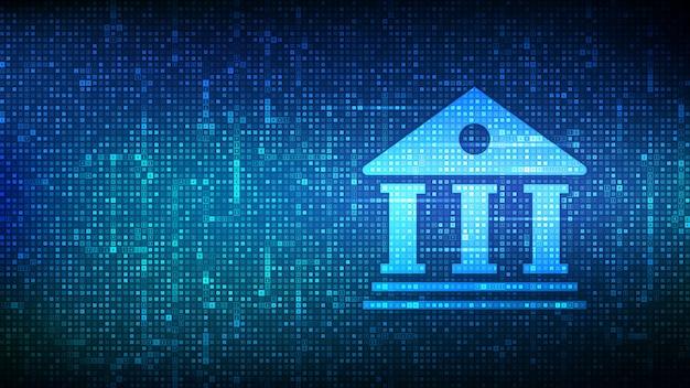 Hintergrund des bankdienstes
