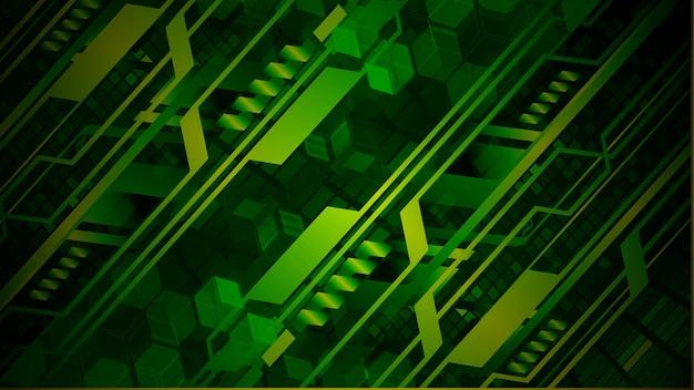 Hintergrund des konzepts der cyber-schaltung der zukunft