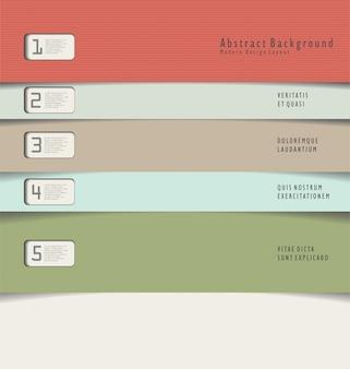 Hintergrund des modernen designs