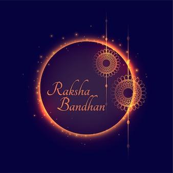 Hintergrund des traditionellen indischen festivals raksha bandhan