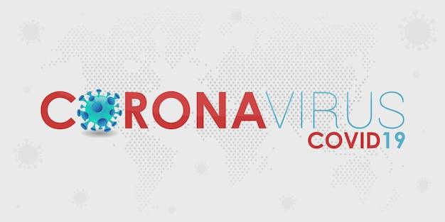 Hintergrund des weltbanner-virus. medizinisches coronavirus emojis. editierbare vorlagenvirusinfektion.