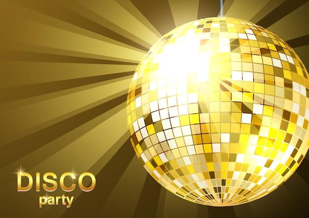 Hintergrund disco-party