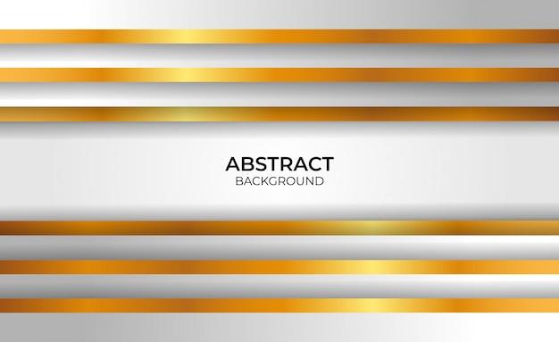 Hintergrund elegantes geometrisches gold und grau