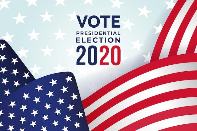 Hintergrund für 2020 uns präsidentschaftswahlen