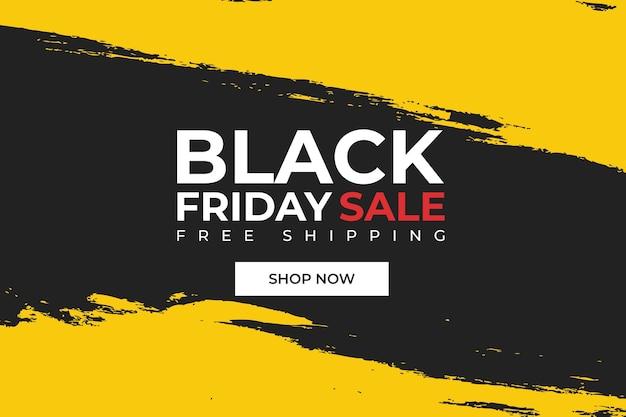 Hintergrund für black friday verkauf mit farbe