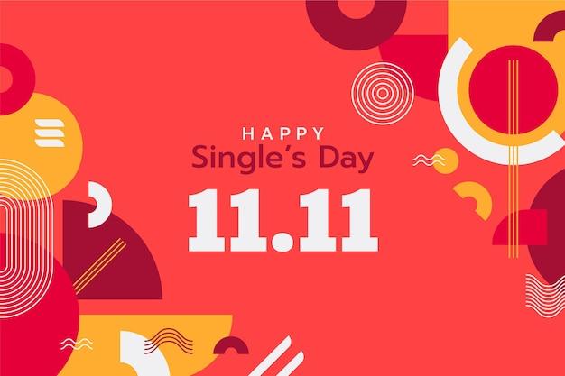 Hintergrund für den flachen singletag