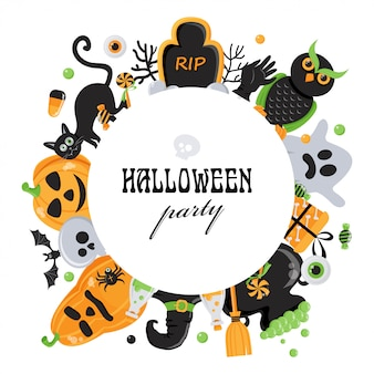 Hintergrund für die halloween-party