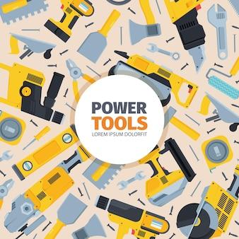 Hintergrund für elektrowerkzeuge
