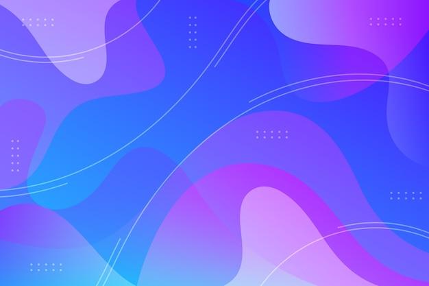 Hintergrund für flüssiges design
