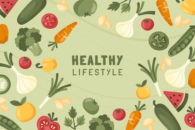 Hintergrund für gesunde ernährung