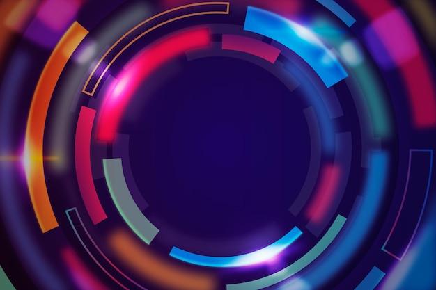 Hintergrund für gradientengeschwindigkeitsbewegungen Kostenlosen Vektoren