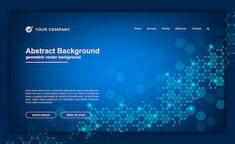 Hintergrund für Ihre Website oder Zielseite.