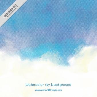 Hintergrund gemalt mit wasserfarben, blautönen