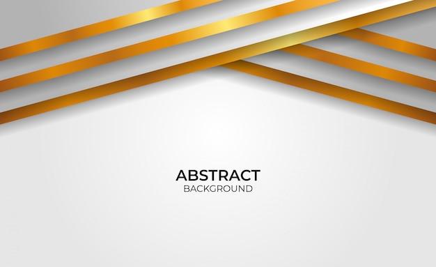 Hintergrund geometrisches gold und grauer abstrakter stil