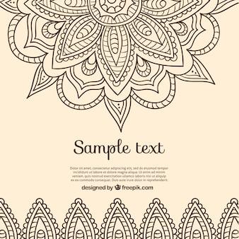 Hintergrund in der indischen design
