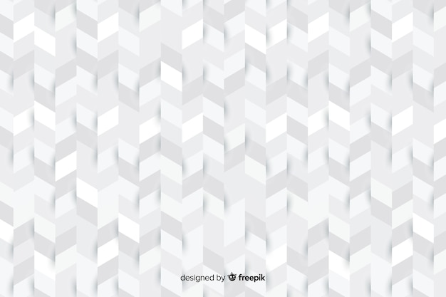Hintergrund in der papierart voll von geometrischen formen