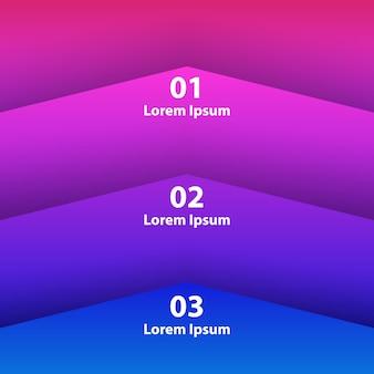 Hintergrund infografiken element