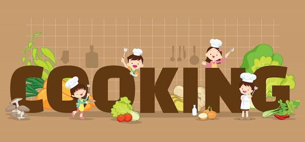 Hintergrund kochen