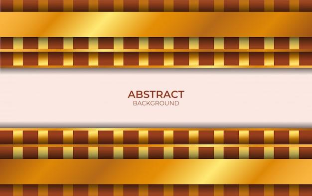 Hintergrund luxus braun und gold stil