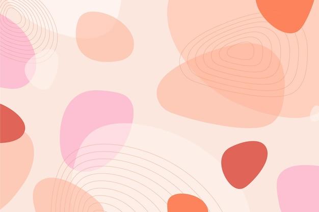 Hintergrund mit abstrakten formen