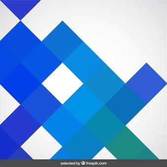 Hintergrund mit blauen quadraten