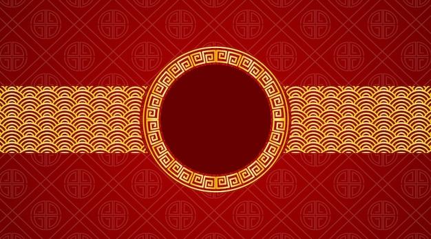 Hintergrund mit chinesischem design
