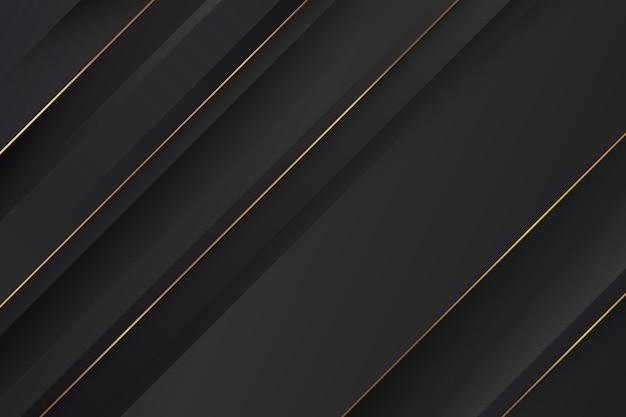 Hintergrund mit dynamischen linien im papierstil