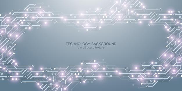 Hintergrund mit elektronischer leiterplatte.