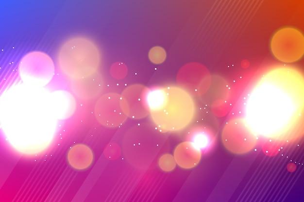 Hintergrund mit farbverlauf im bokeh-stil