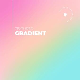 Hintergrund mit farbverlauf in regenbogenfarben mit typografischen details