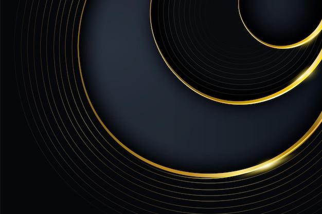 Hintergrund mit farbverlaufs-luxusdetails