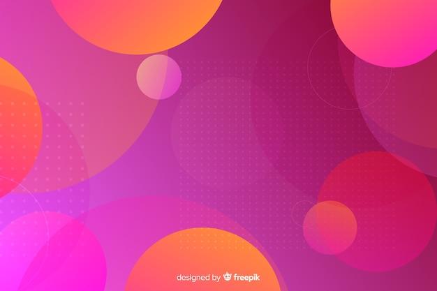 Hintergrund mit geometrischem formdesign
