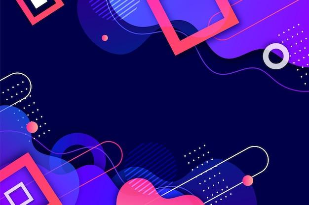 Hintergrund mit geometrischen farbverläufen