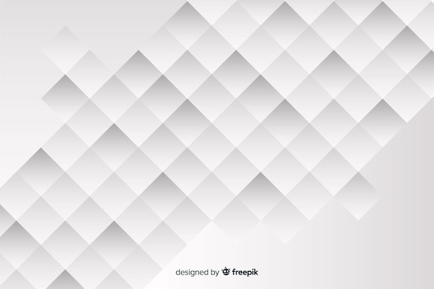Hintergrund mit geometrischen modellen in der papierart