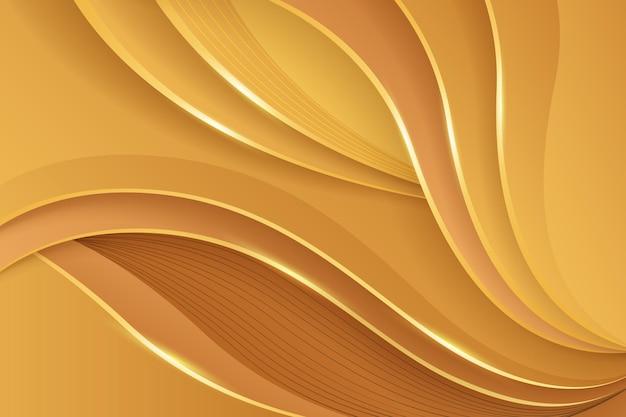 Hintergrund mit glatten linien mit farbverlauf