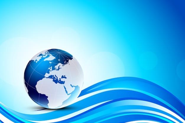 Hintergrund mit globus.