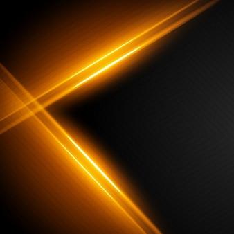 Hintergrund mit hellen goldenen streifen