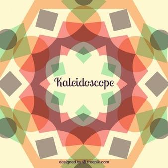 Hintergrund mit kaleidoskop-effekt
