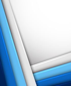 Hintergrund mit linien in blauer farbe