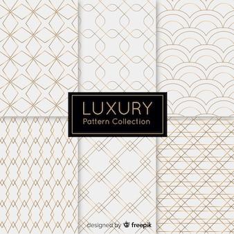 Hintergrund mit luxusmustersammlung