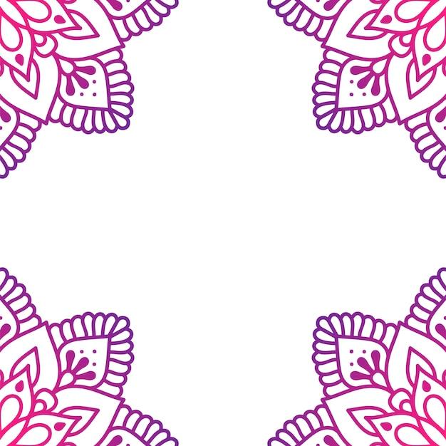 Hintergrund mit mandala