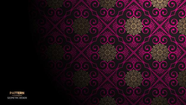 Hintergrund mit mandaladesign für yoga oder meditation