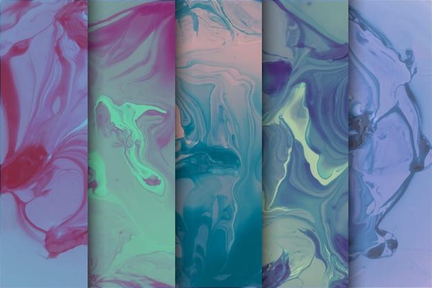 Hintergrund mit marmorsammlungsdesign