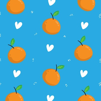 Hintergrund mit orangefarbenem muster