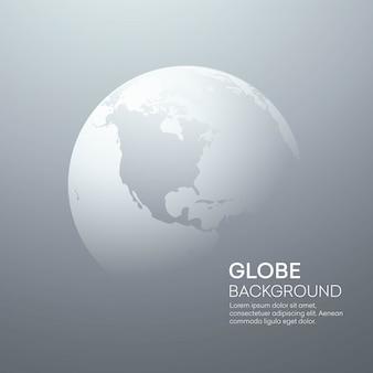 Hintergrund mit planet earth globe