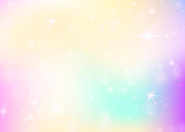 Hintergrund mit regenbogennetz. trendige farben.