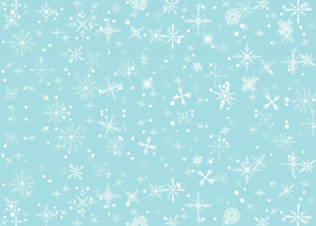Hintergrund mit schneefall