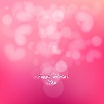 Hintergrund mit schönen rosa herzen